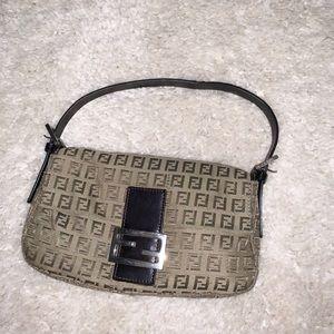 Auth Fendi Baguette Bag